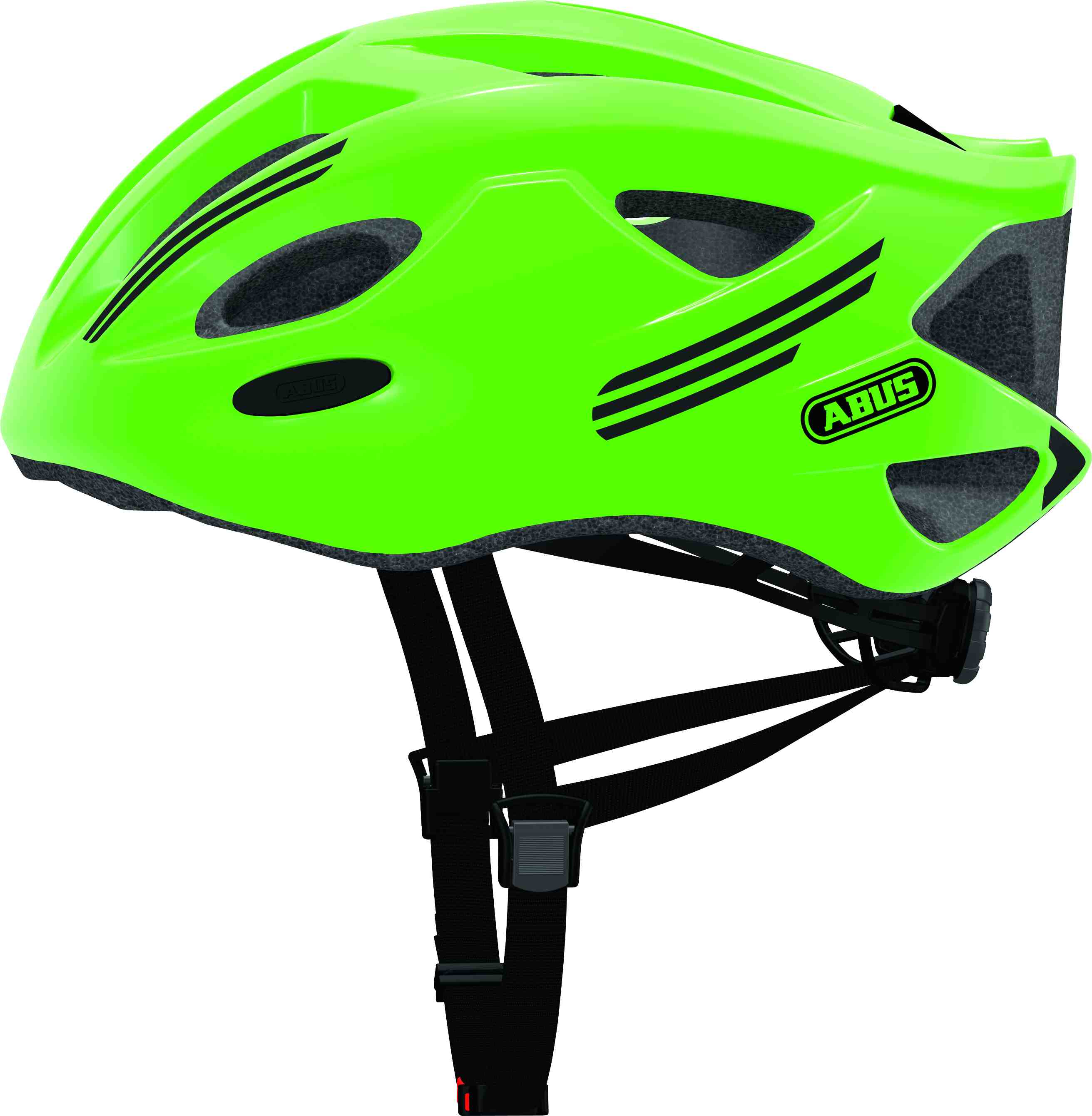 Přilba ABUS S-Cension neon green L (58-62 cm)