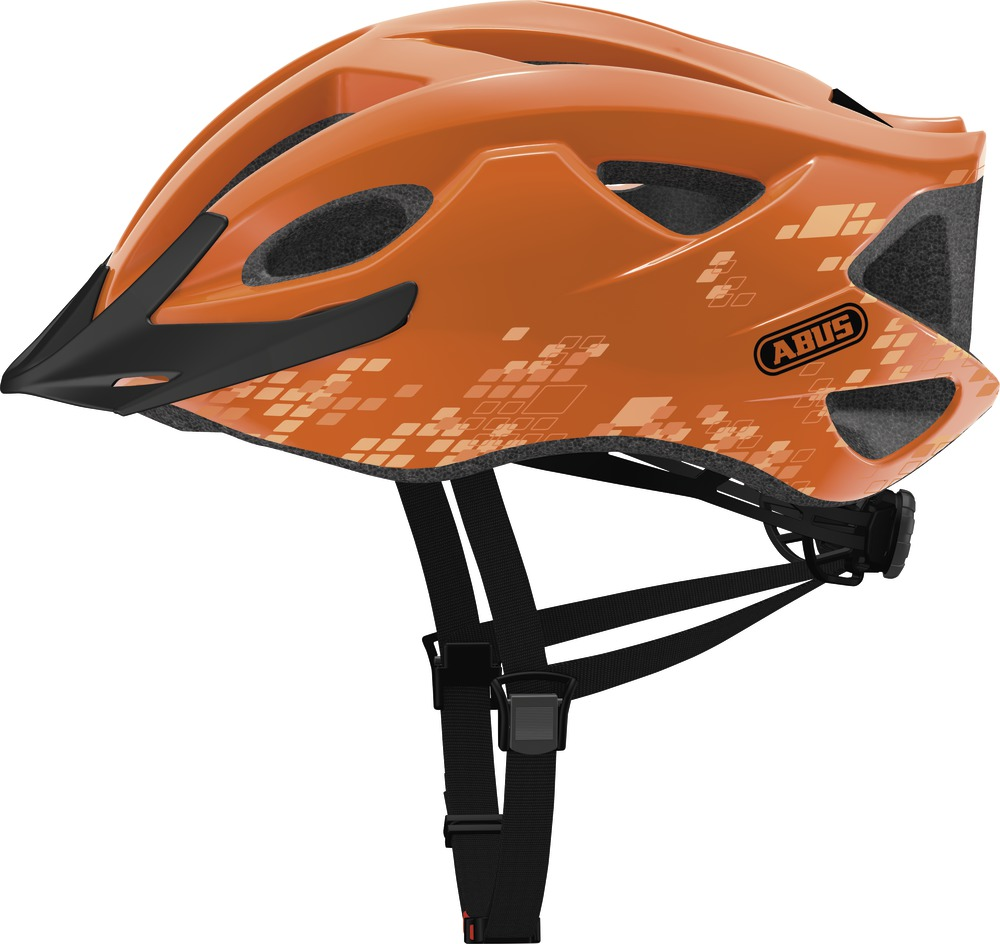 Přilba ABUS S-Cension diamond orange L (58-62 cm)